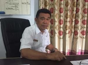 Disnaker Minahasa Tenggara, tambang Minahasa Tenggara, tambang ilegal Minahasa Tenggara, Drs Robby Sumual,