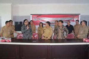 Pemerintah Kabupaten Minahasa, KPK , Korsupgah wilayah 8 sulut, Muhammad Indra Furqon,