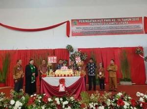 HUT ke-56 PWRI Provinsi Sulut, PWRI Provinsi Sulut, Drs Robby Ngongoloy,