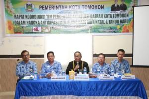 Sekretaris Kota Ir Harold V Lolowang membuka kegiatan