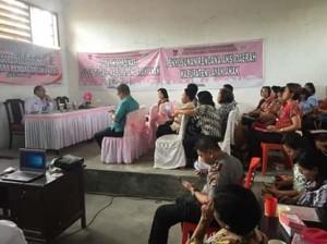 Perdagangan Orang, Perdagangan Orang Minahasa Tenggara , DP3A Mitra, Phebe Punuindoong