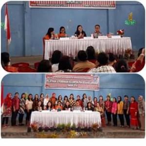 Dinas PMD, TP-PKK Kabupaten Minahasa Tenggara,  Djein Leonora Rende