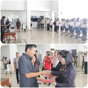 Wabup Jocke Legi Lantik 47 Pejabat Fungsional di Lingkup Pemkab Mitra