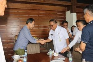 Wali Kota Minamiboso Mr Ishii Yutaka disambut  Sekkot Ir Harold V Lolowang MSc MTH