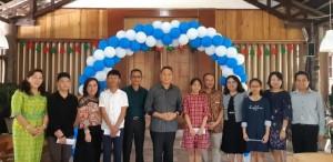 Wali kota, Kepala Dinas Dikbud dan siswa bersama orang tua