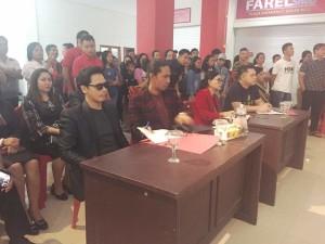 Peserta Audisi Indonesia Face Audition di Plaza Ratahan Membludak
