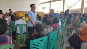 Senator SBAN Liow menyarap aspirasi dari kalangan Lansia