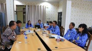 Rapat Dengar Pendapat Komisi I DPRD Tomohon dengan BKPPD
