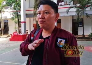 Ketua KNPI Kota Manado, Fanerick G. Kawatu