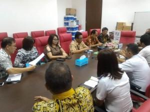 Konsultasi Komisi II DPRD Tomohon di Kementerian Perhubungan RI