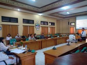 Wali Kota sata menjadi mentor pada presentasi Kepala BPBD di Diklat PIM II