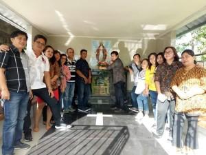 Ziarah ke makam mantan pengajar di Politeknik Negeri Manado
