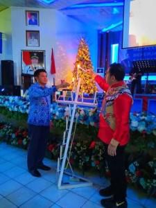 Korpri Bitung Gelar Perayaan Natal Bersama