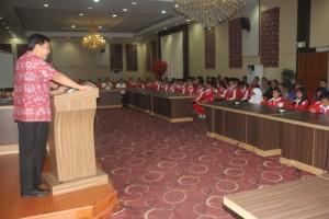 Kandouw Apresiasi Prestasi Kontingen POPWILL V Sulut