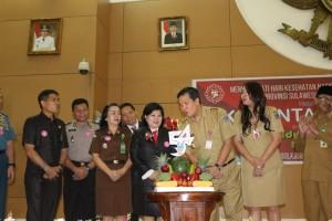 Peringatan HKN ke-54, Kandouw Ajak Tenaga Kesehatan di Sulut Jaga integritas