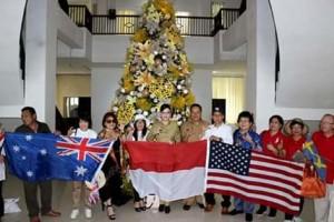Bupati CEP Terima Kunjungan Manado International Family (MIF)