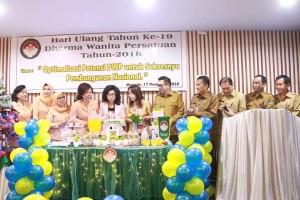 Rayakan HUT ke-19, Wawali Mor Minta DWP Kota Manado Terus Tunjang Kinerja ASN