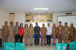 Pemerintah Kota Tomohon, narasumber dan peserta FGD