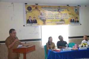 Asisten Perekonomian membuka kegiatan FGD
