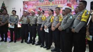 Polres Minsel,  Pdt Stieb Rondonuwu MTh, AKBP FX Winardi Prabowo