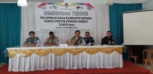 Peserta Pemilu Tidak Masukan LPPDK Terancam Tidak Ditetapkan Sebagai Anggota Dewan Mitra