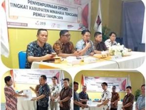 Hasil Penyempurnaan DPTHP-2, Pemilih di Kabupaten Mitra Bertambah 216 Orang