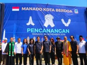 Dua Kali Berturut-turut, Kota Manado Dapat Penghargaan Kota Paling Toleran di Indonesia