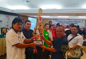 Kejuaraan Bridge Piala Wali Kota Manado Sukses Digelar, Ini Daftar Pemenangnya