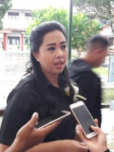 Ketua Komisi III DPRD Tomohon Ladys F Tiurang SE