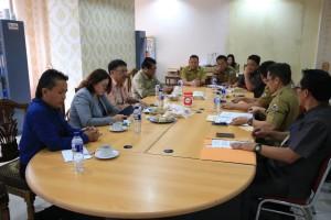 Komisi II DPRD Tomohon RDP dengan Instansi Terkait