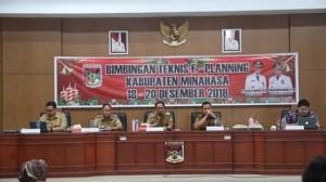 Bimtek E-Planning, r. Royke Octavian Roring,  Novanto Salainti , A. Yudi Wicaksono,