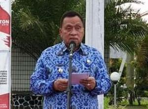 Robby Dondokambey S.Si,  Apel Korpri Pemkab Minahasa