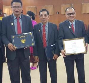 Lulus Diklat PIM II, Bupati Sumendap Apresiasi Tiga Pejabat Mitra