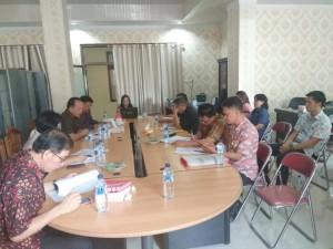 Pembahasan Pansus Penambahan Penyertaan Modal ke Bank Sulutgo denwgan Badan Keuangan Daerah