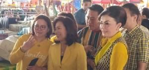 CEP bersama jajaran Partai Golkar di Pasar Tomohon