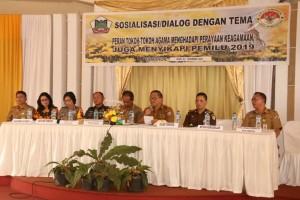 Dialog Peran Tokoh Agama di Aula Naga Mas