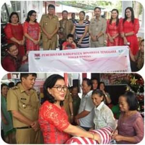 Dinas Sosial Kabupaten Minahasa Tenggara , Fenggi Wurangian SE, jesaya legi