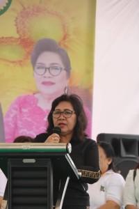 Dra Wilhelmina E Lolowang-Mintje MPd, Ketua DWP Kota Tomohon
