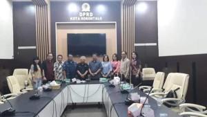 Kunker Komisi II DPRD Tomohon ke DPRD Kota Gorontalo