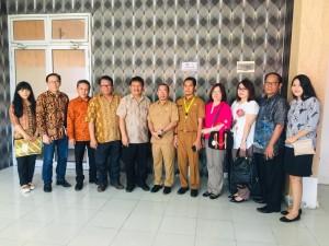 Kunker KOmisi II DPRD Tomohon di Kabupaten Gorontalo Utara