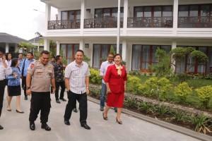 Wali Kota Tomohon dan jajaran bersama manajemen Grand Master Resort neninjau lokasi