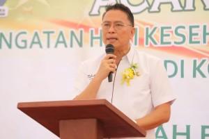 Wali Kota Tomohon Jimmy F Eman SE Alk