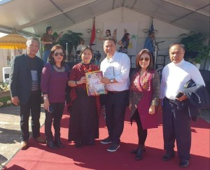 Eman Promosikan TIFF di Indonesian Festival Houston AS