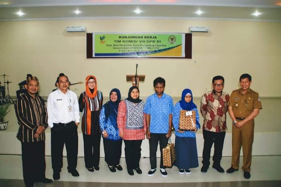 Komisi VIII DPR RI , GS Vicky Lumentut ,Diah Pitaloka, Hj Desy Ratnasari ,M Ali Taher, TB H Ace Hasan Syadzily