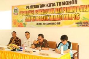 Asisten Perekonomian mewakili wali kota saat membuka kegiatan sosialisasi