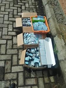 KTP-El invalid yang dimusnahkan di Kota Tomohon