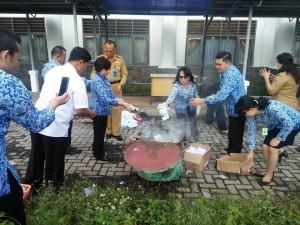 Pemujsnahan 8.225 keping KTP-El di Kota Tomohon