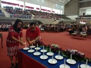 Gubernur OD Minta Lansia GMIM Turut Serta Bangun Sulut Sesuai Talenta