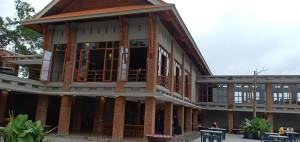 Danau Linow Resort tamil dengan nuansa baru
