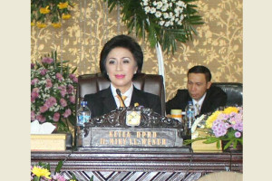 Ketua DPRD Tomohon Ir Miky JL Wenur MAP